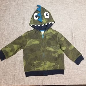 Gymboree boy's monster hoodie 12 to 18 months